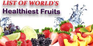 Healthiest fruit