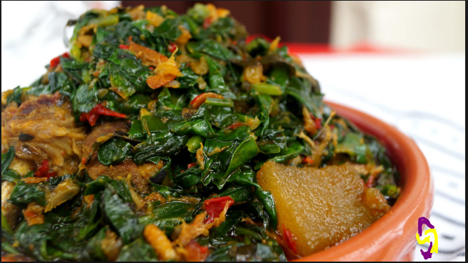 Egburegbu soup