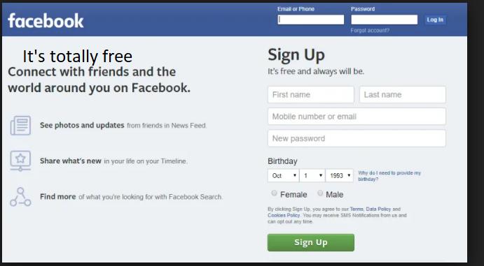 Facebook Account Sign in
