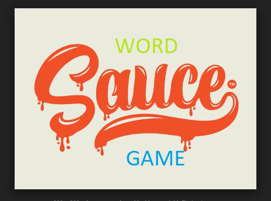 Word Sauce Game