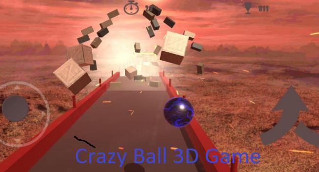 Crazy Ball 3D Game