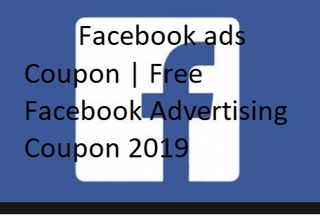facebook ads coupon