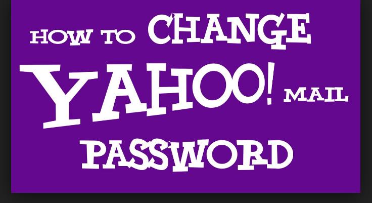 yahoo mail change of password