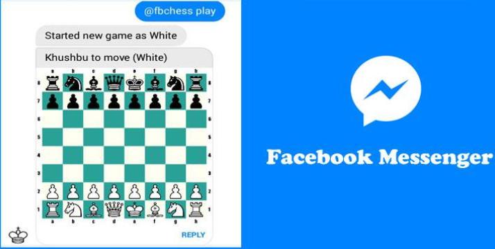 Facebook Messenger chess game