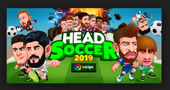 Facebook messenger head soccer La Liga 2019