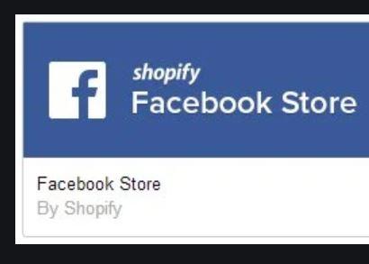 Shopify Facebook Shop -  Facebook Store