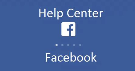 facebook help center email