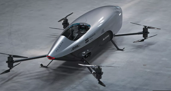 Electric flying pod racer ready to show the world a new era of motorsport