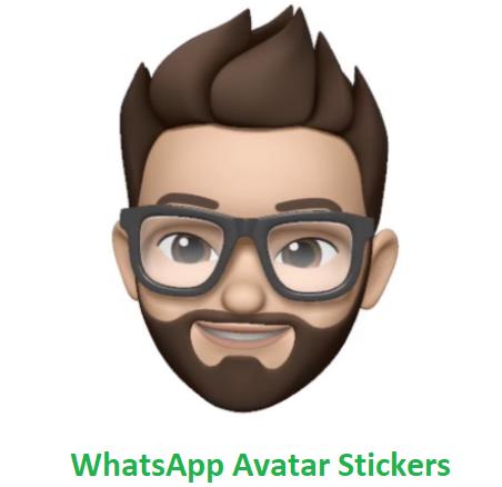 WhatsApp avatar stickers