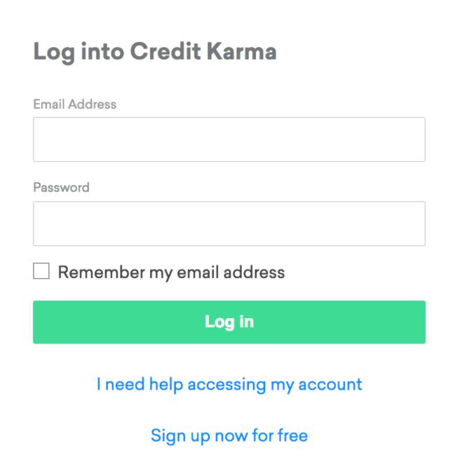 How to Sign Up & Login CreditKarma.com